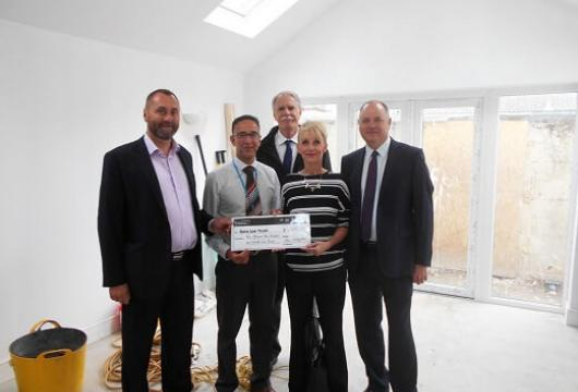 SLM Toyota Visit new Sara Lee Trust Therapy Centre in Sidley East Sussex