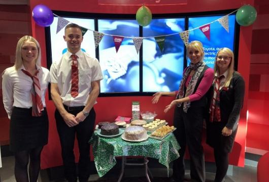 SLM Toyota Hastings support Macmillan Coffee Morning